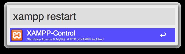 XAMPP-Control-trigger