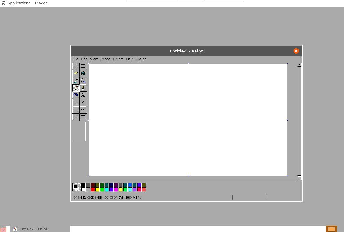 JS Paint exe on Ubuntu