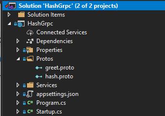 New Proto Hash Created