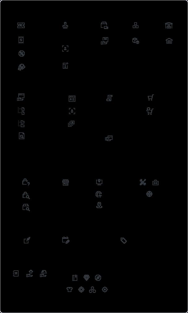 Conversation panel app icons