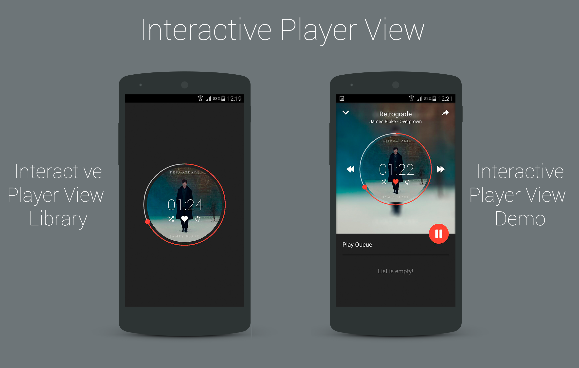 "interactiveplayerview from iammert custom android music player view a½œe€…cš""aˆa¸€a¸ae‡aaša¹‰eŸ³a"