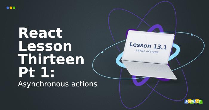 Lesson 13.1