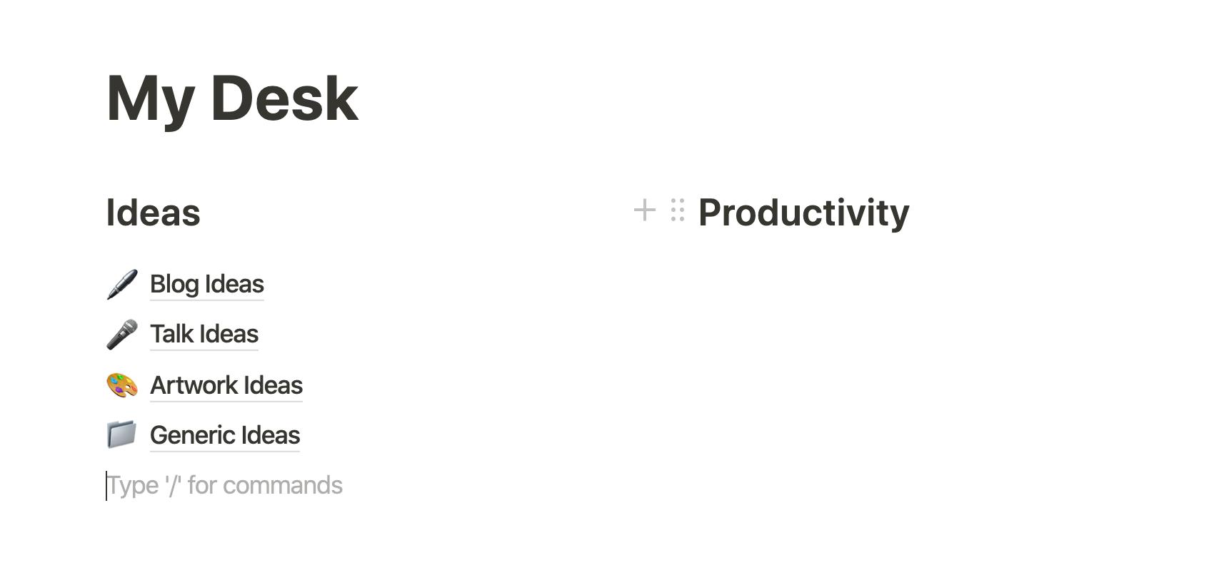 'productivity'