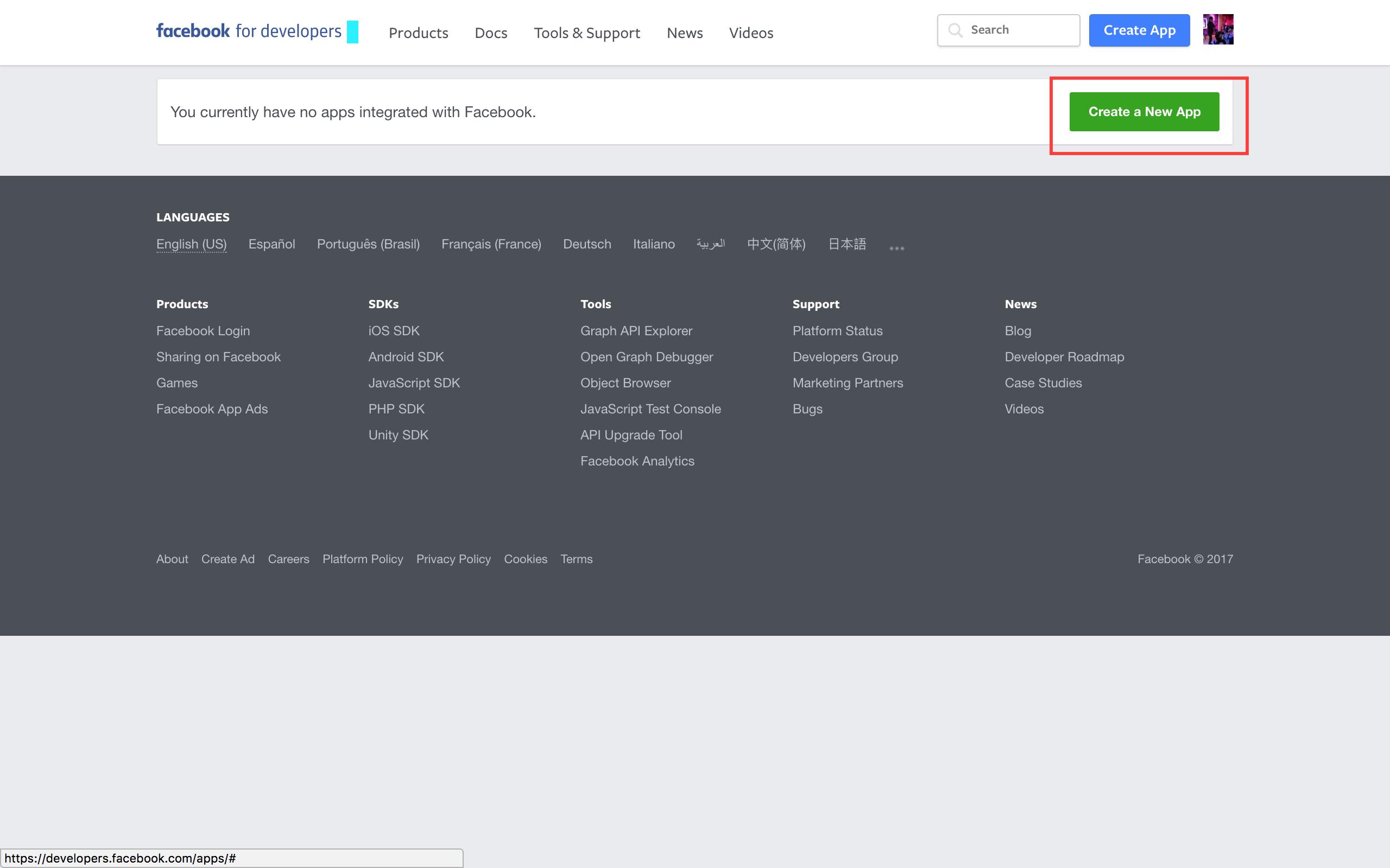 tutorial_fb_app_screen hasura hub iamvinit fb bot meme generator