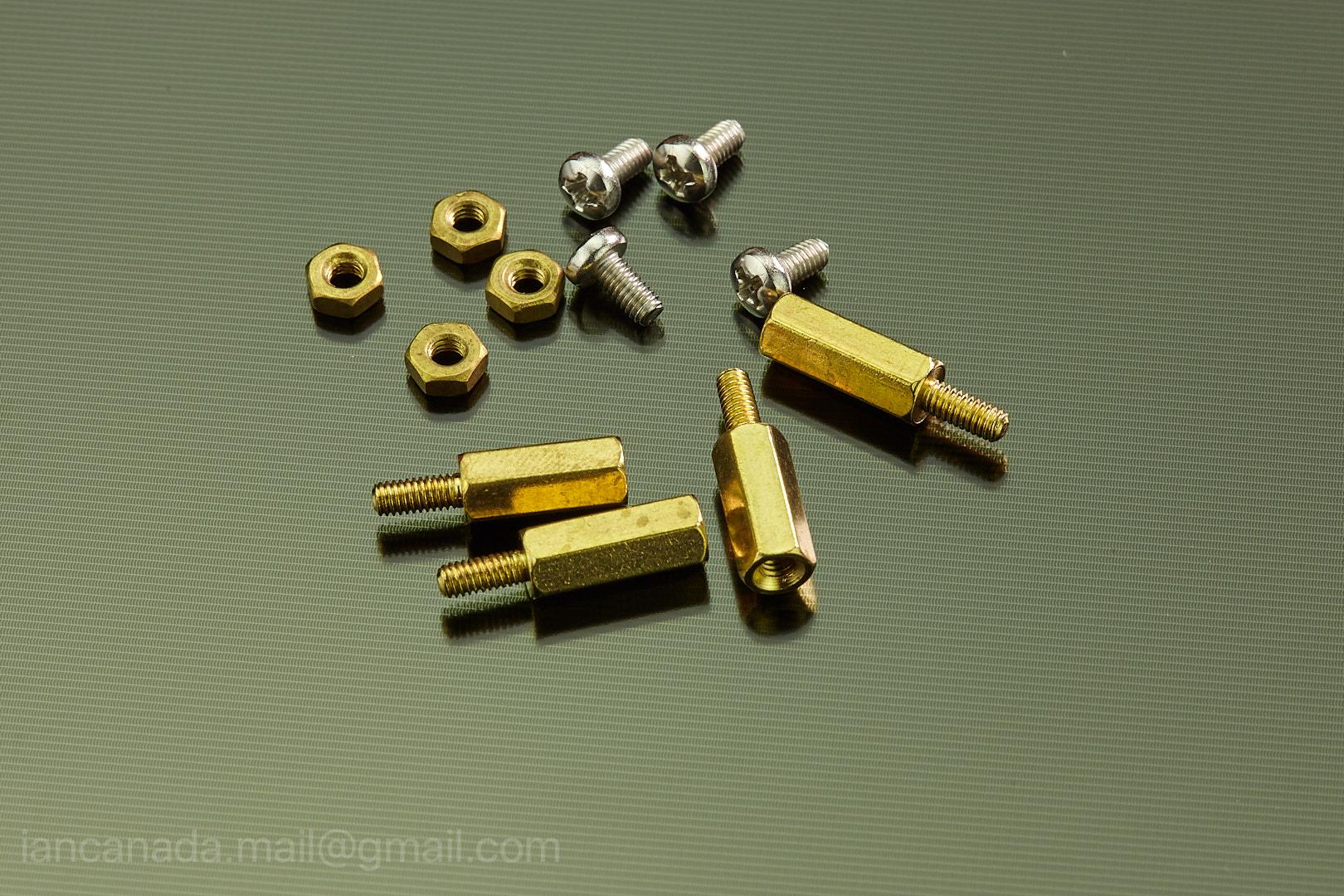 2.5mm standoffs