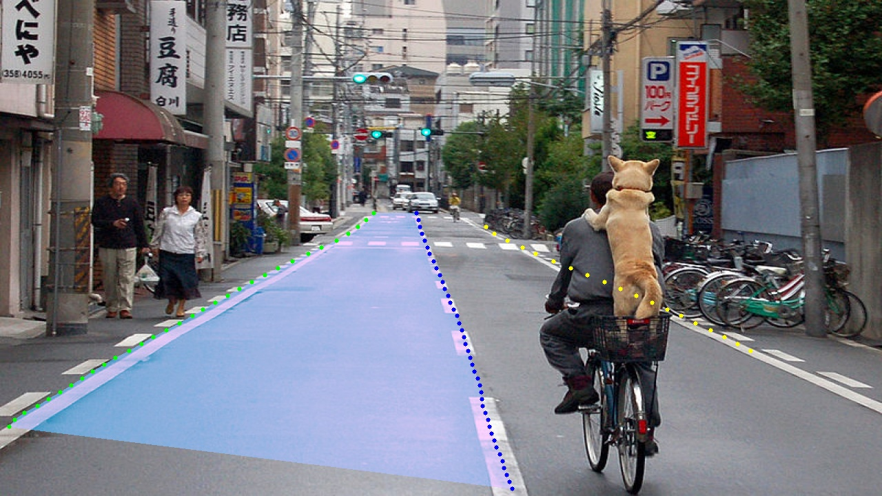 !Ultra fast lane detection