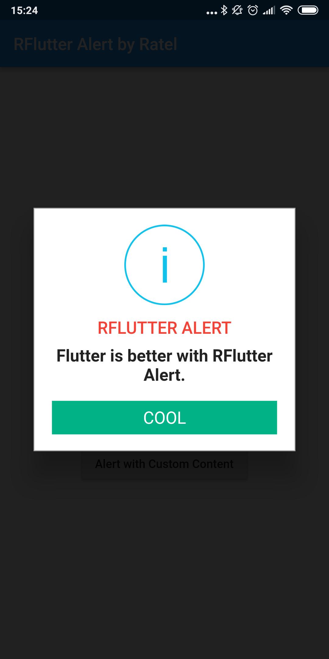 Alert Dialog Flutter