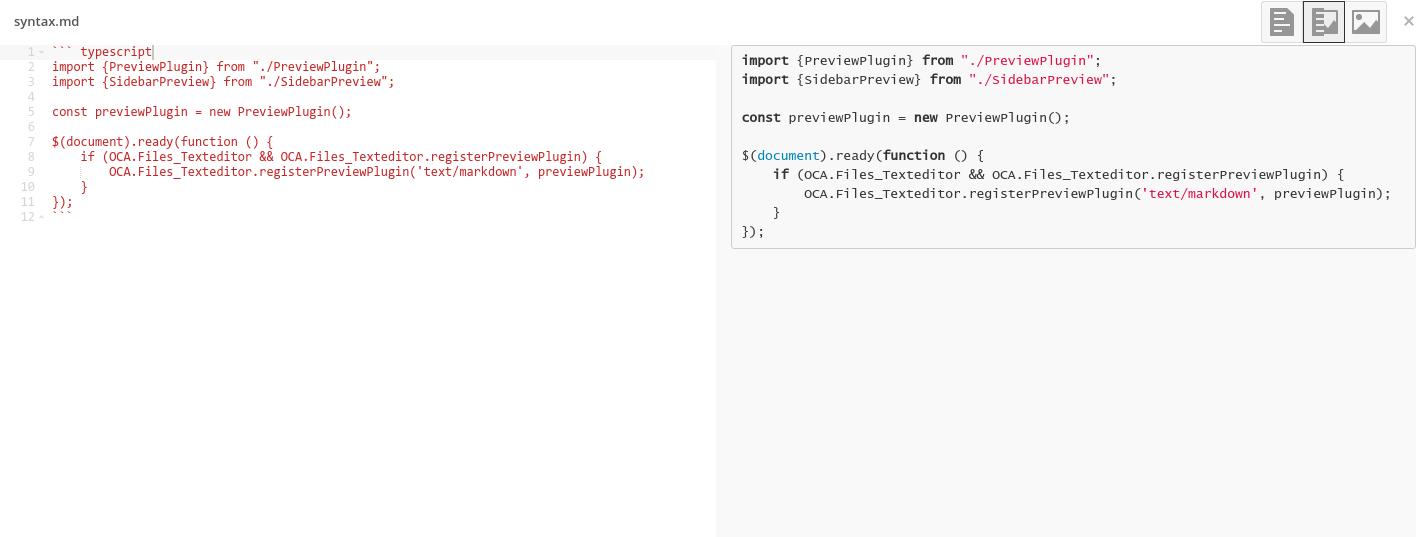 Markdown Editor - Apps - App Store - Nextcloud