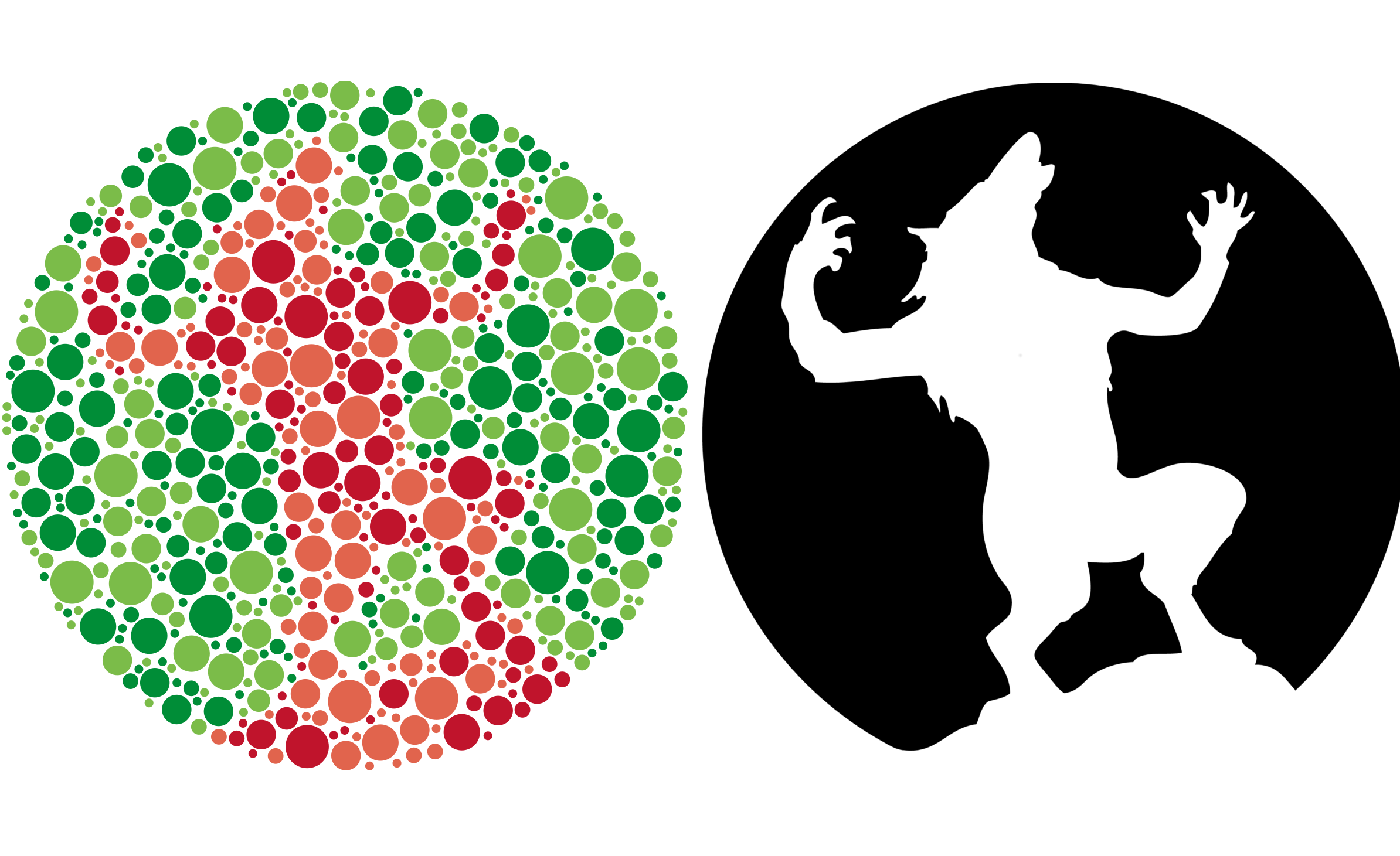 Ishihara plates generated by Monte Carlo algorithms | Ian Faust