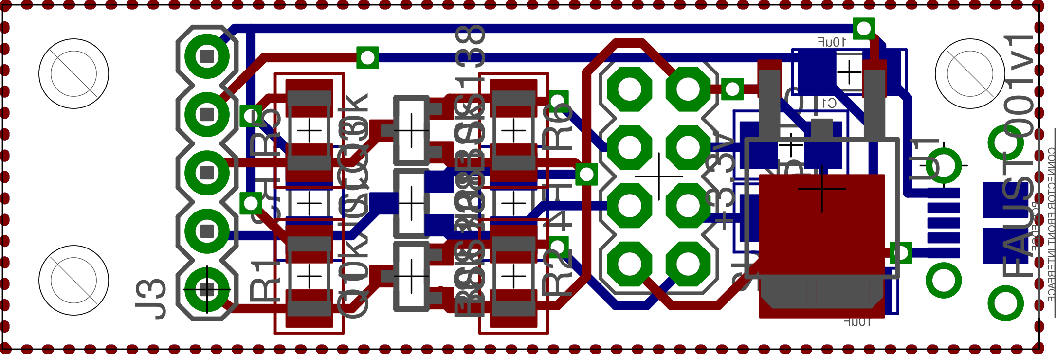PCB CAD for mating board