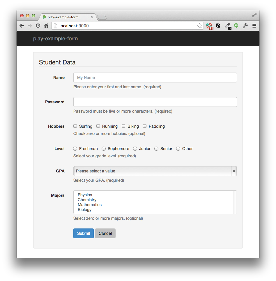 Meteor example autoform issues form help text falaconquin