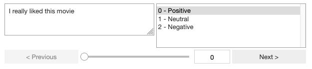 Screenshot of Innotater widget in Jupyter