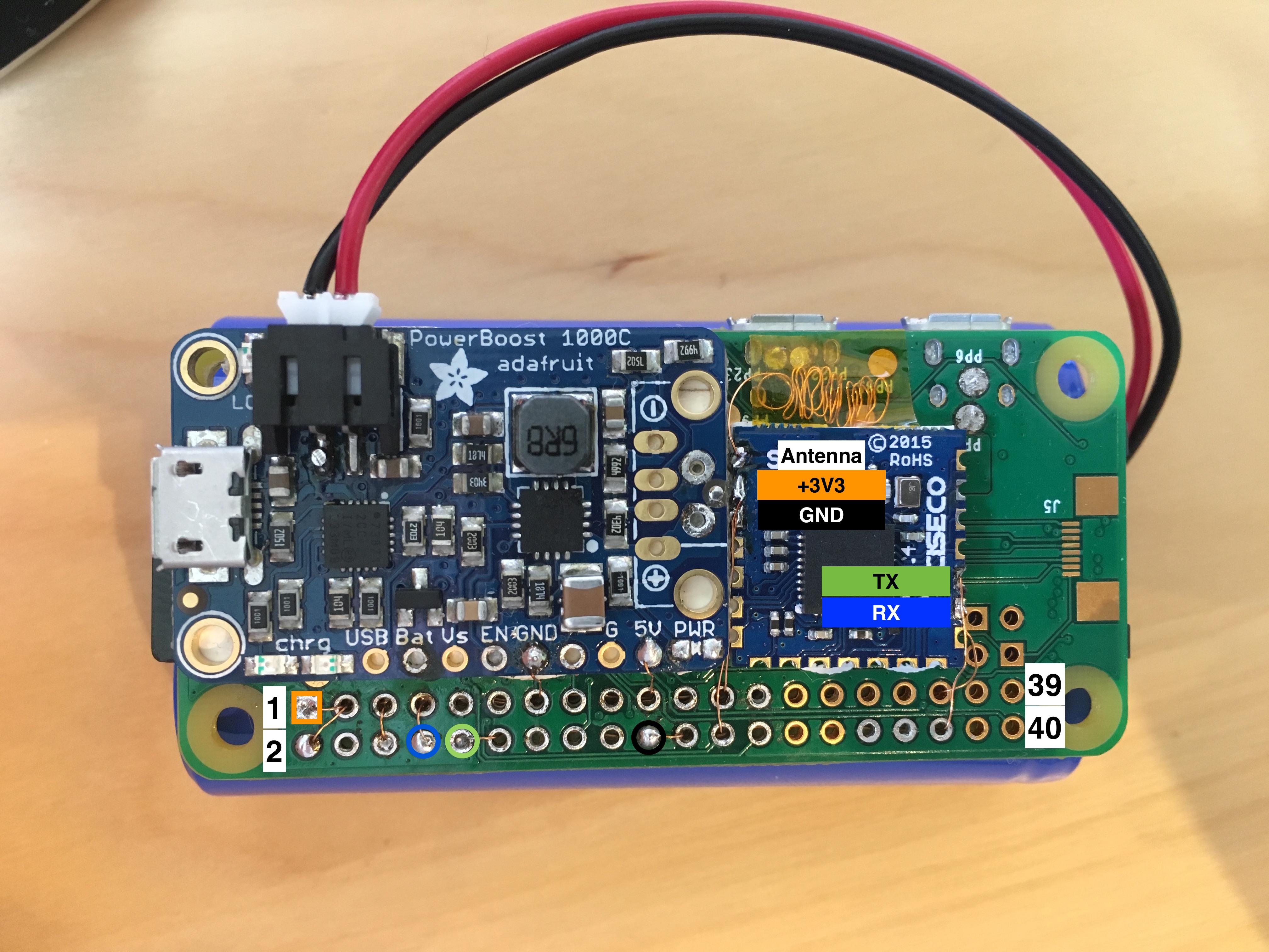 ZeroAPS SRF soldering
