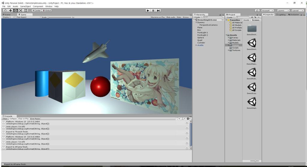 GitHub - if1live/unity-scene-web-exporter: Export Unity
