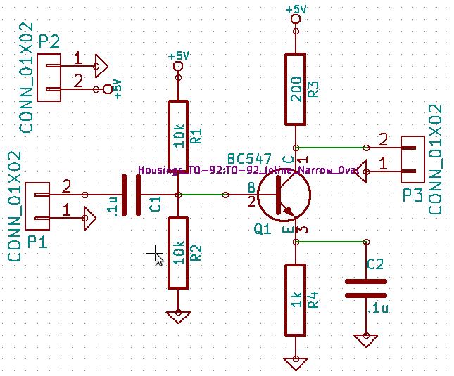 Input schematic