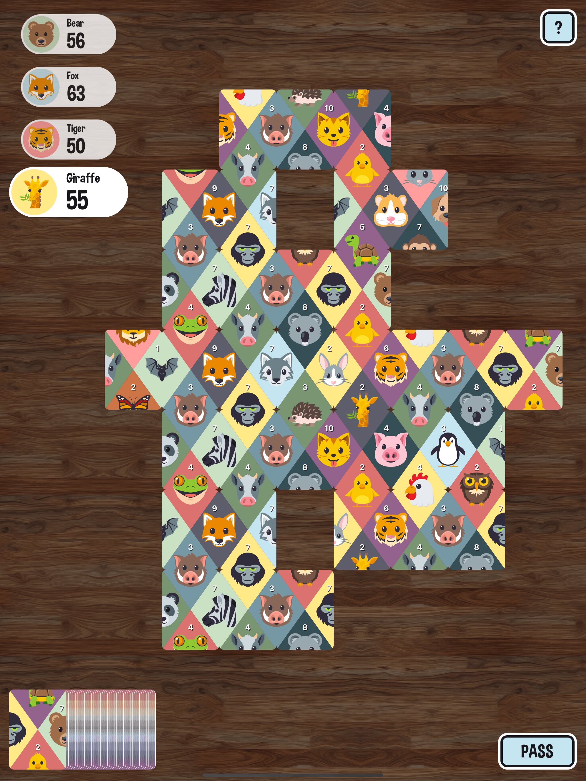 screenshot of matchimals.fun game