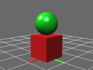 Box and sphere