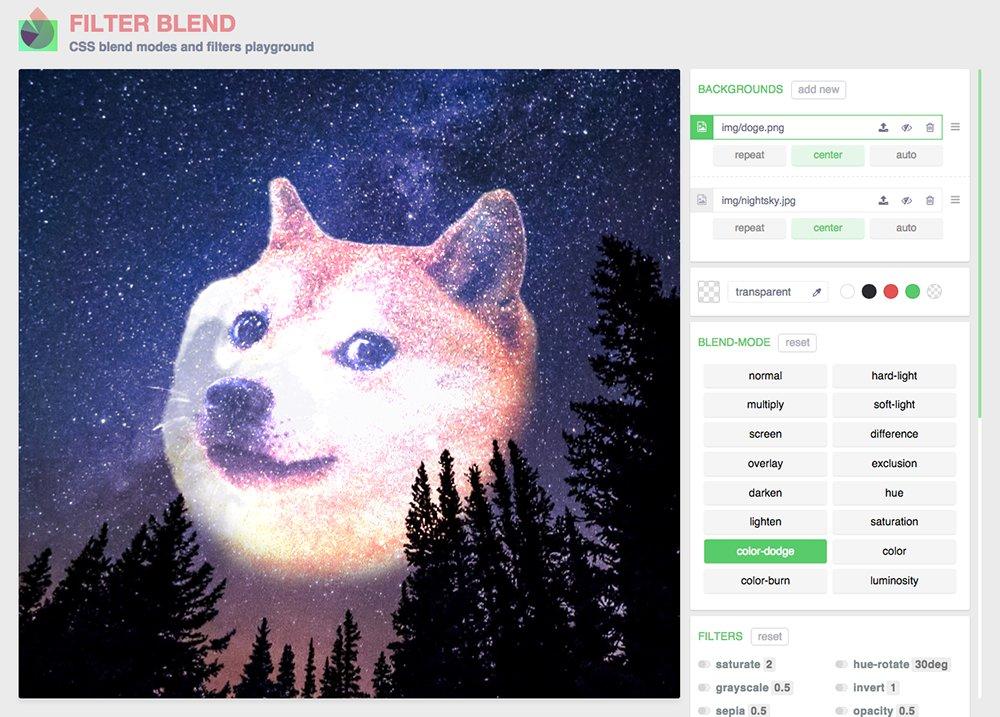 FilterBlend Screenshot