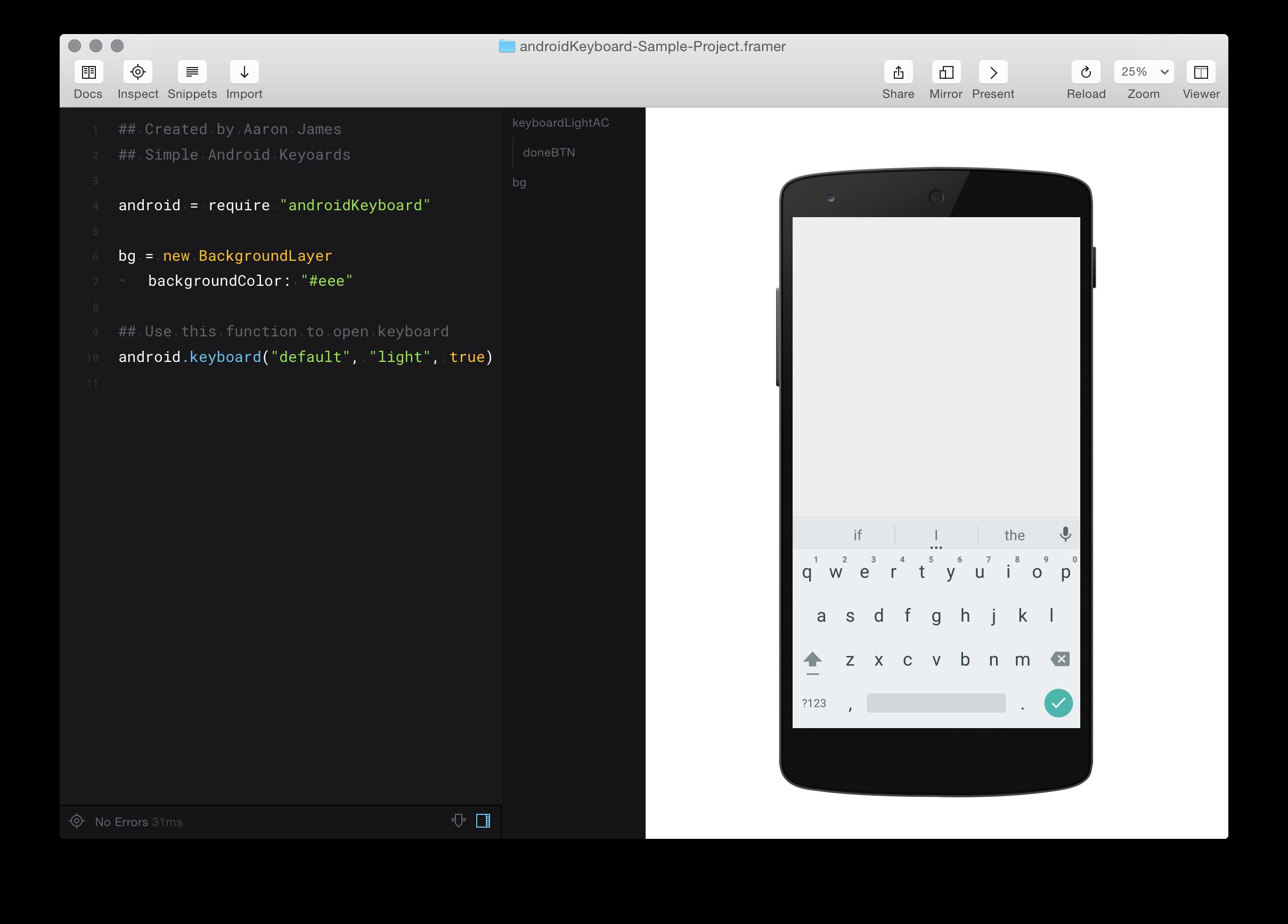 GitHub - imaaronjames/Simple-Android-Keyboards: Easily add