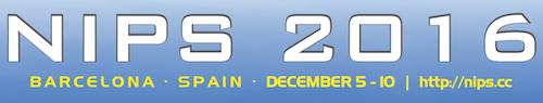 NIPS 2016 logo