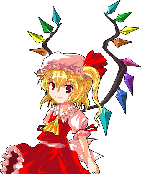 Drawing of Flandre Scarlet by Alphes