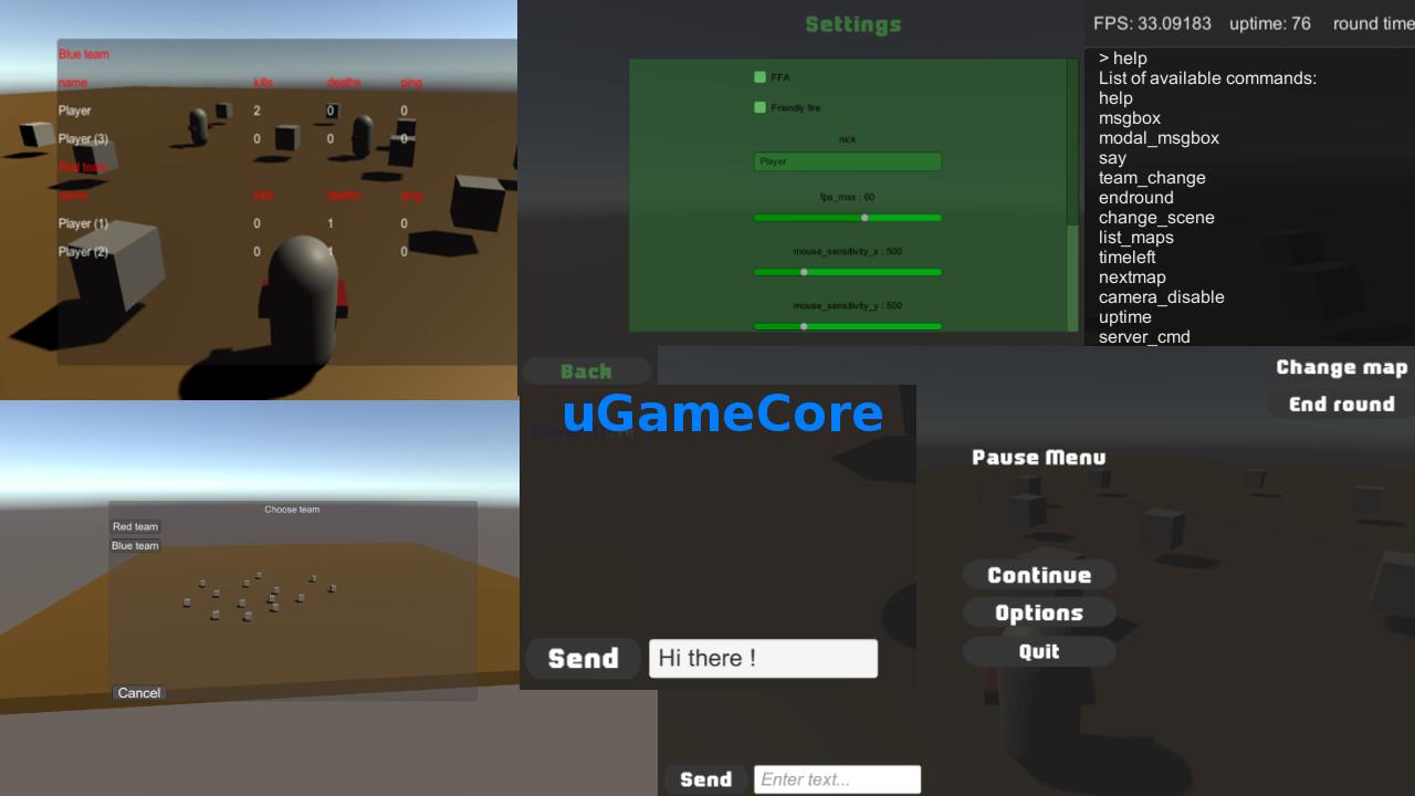 U Game Core - UnityList