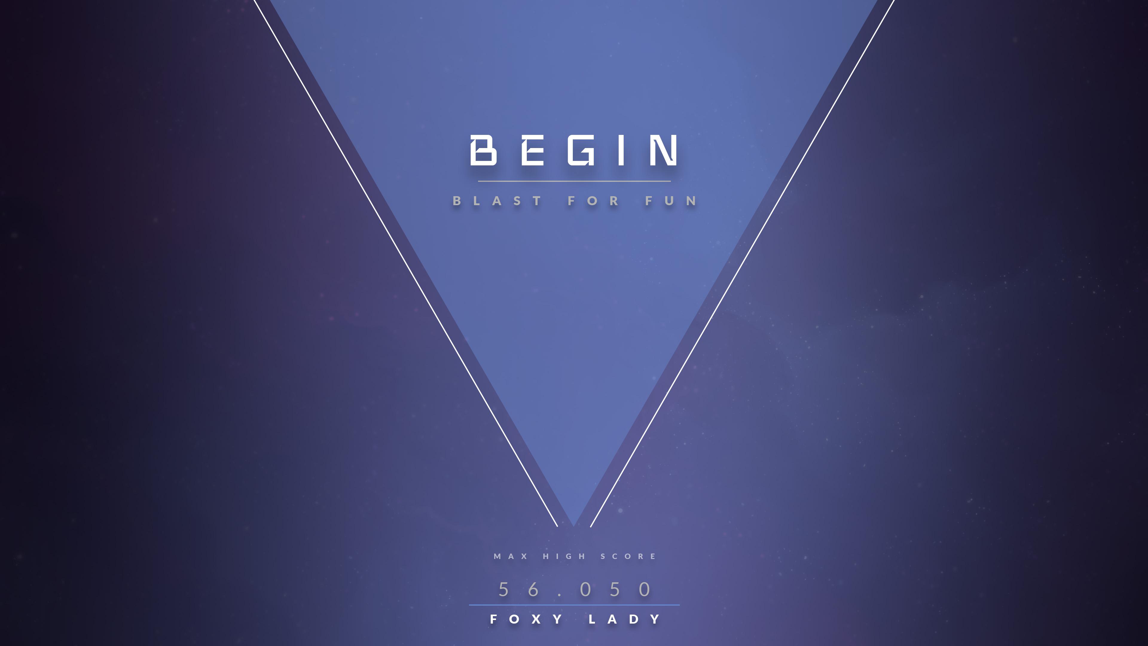 Begin Screen