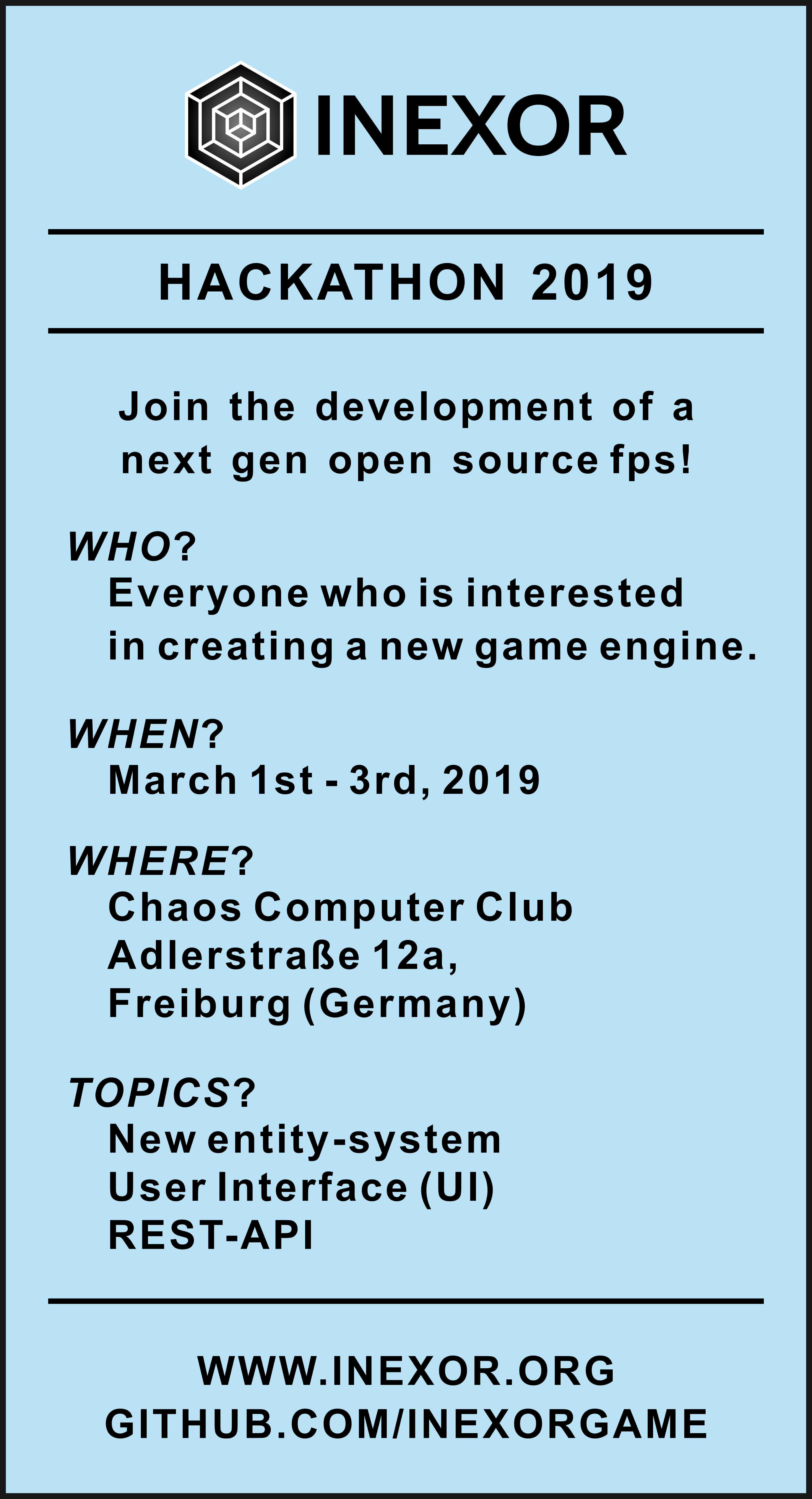 Inexor Hackathon 2019