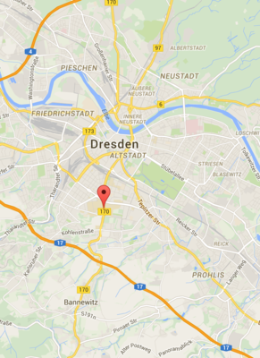 GPS Google Maps Dresden