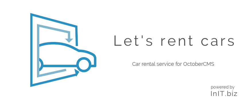 Let's rent cars banner