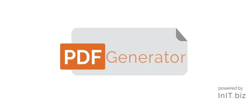 PDF Generator banner