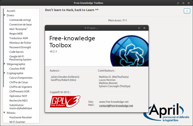 free-knowledge toolbox