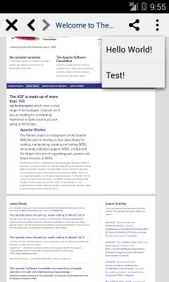 Android Menu Sample