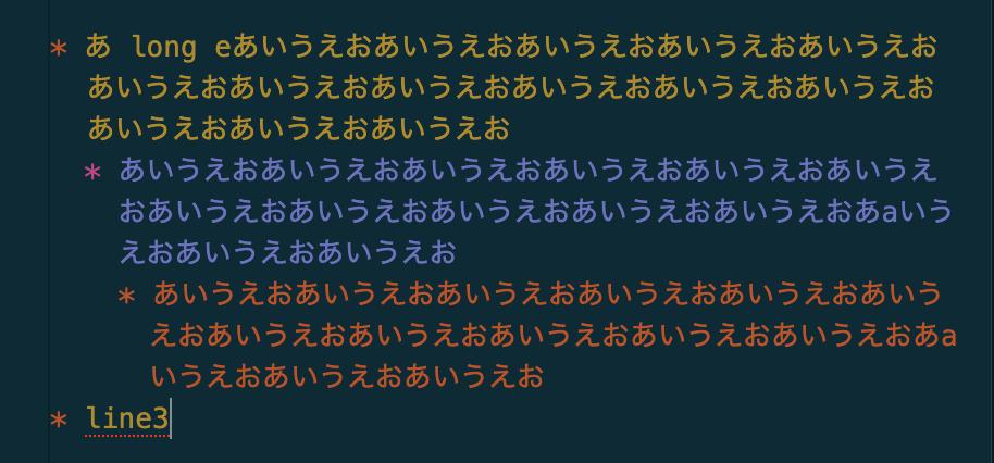 Align list items
