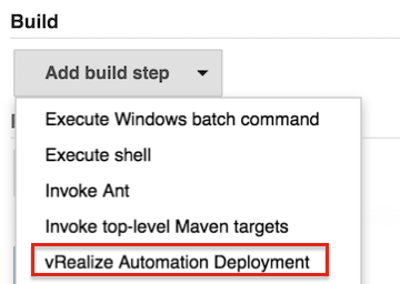 Vmware vrealize automation plugin samples vmware code build step malvernweather Image collections
