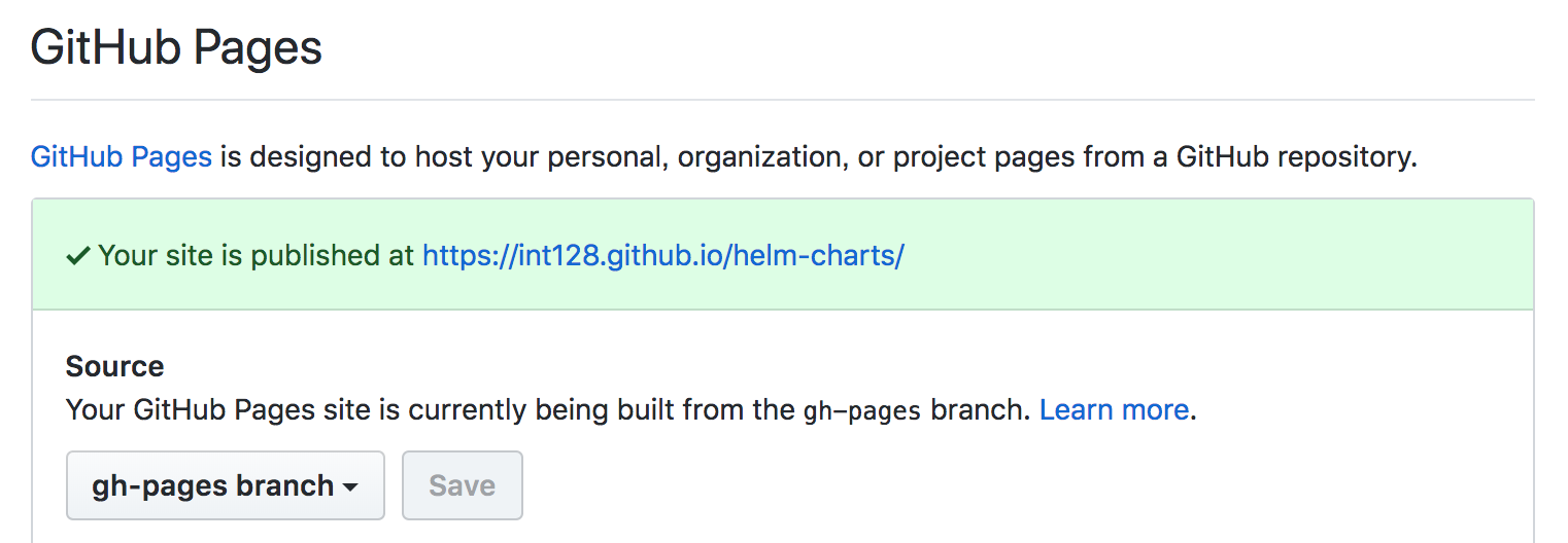 Helm ChartsをGitHub Pagesで公開する - GeekFactory