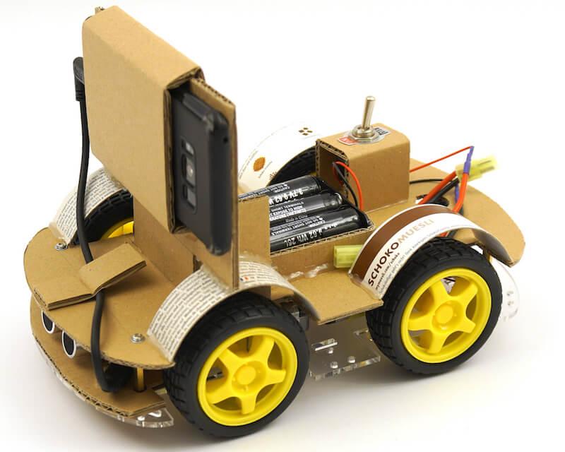 Cardboard OpenBot