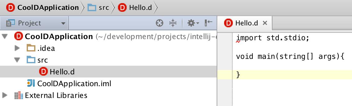 d file editor