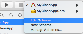 Edit Scheme