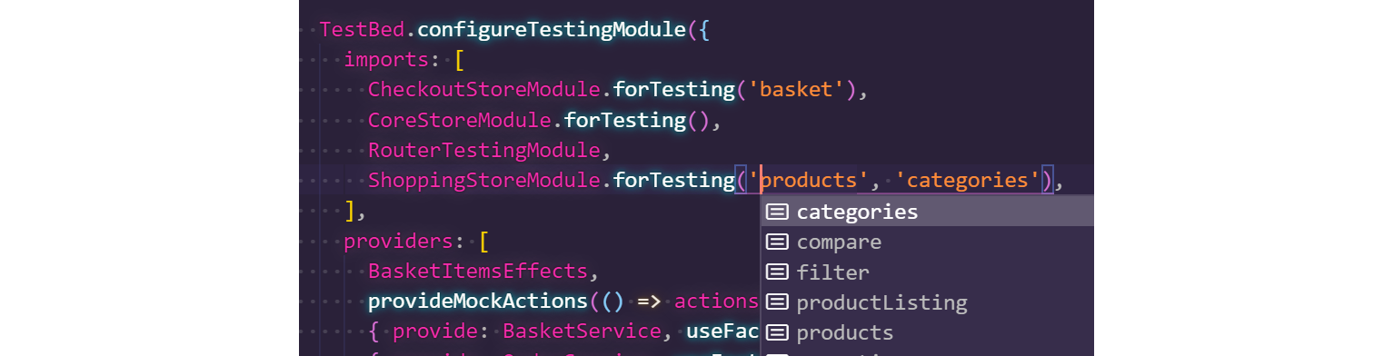 Type safe forTesting
