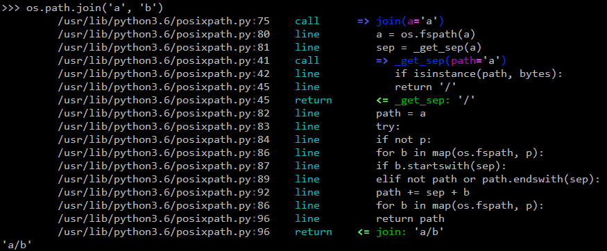 https://raw.githubusercontent.com/ionelmc/python-hunter/master/docs/simple-trace.png