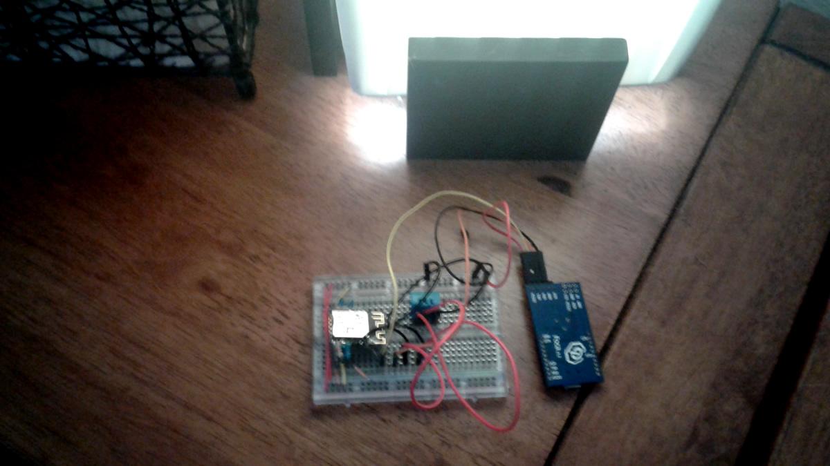 IoT JumpWay TTM ESP8266 Arduino Device