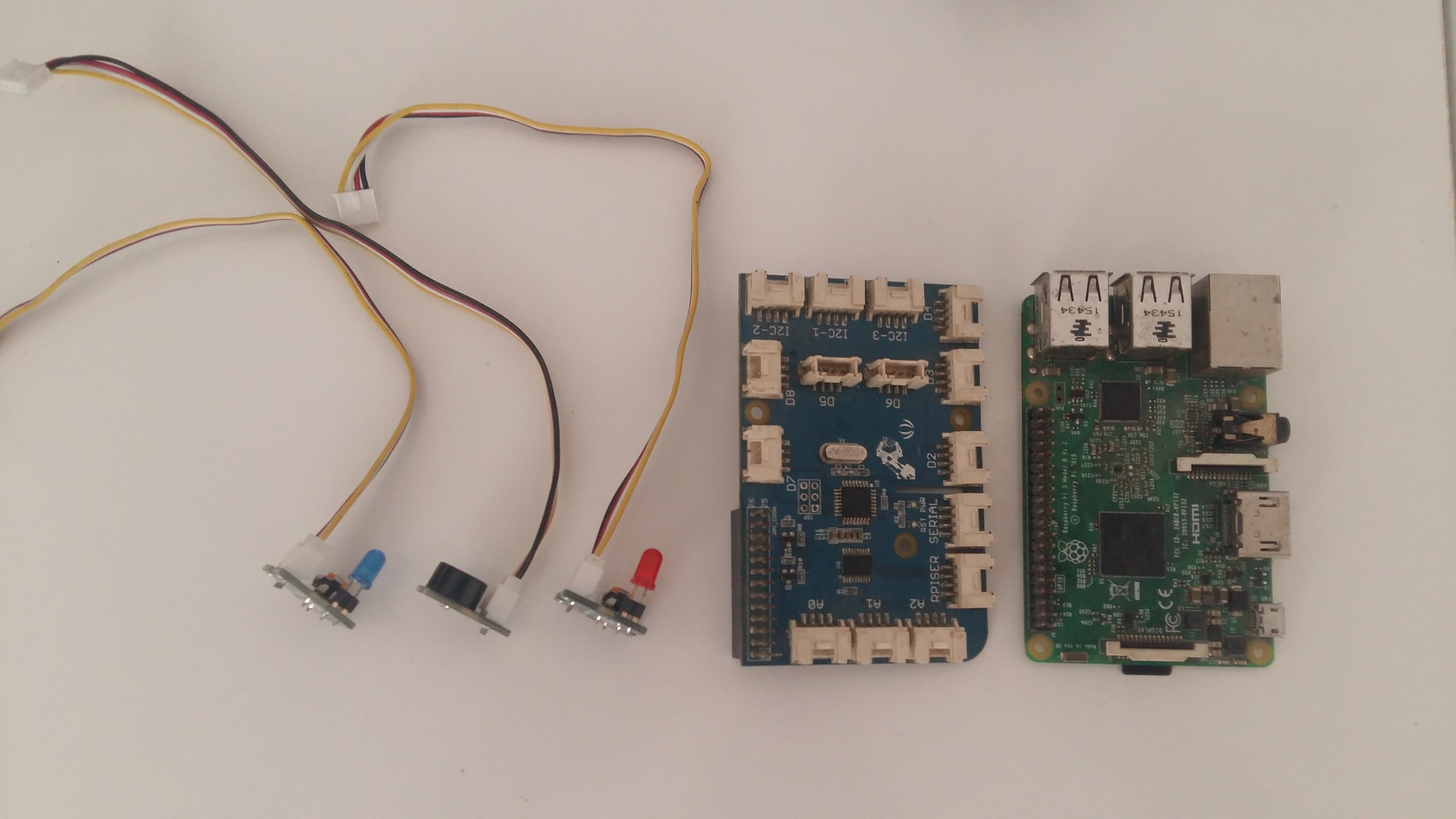 IoT JumpWay Raspberry Pi Dev Kit IoT Alarm