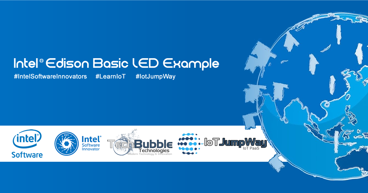 IoT JumpWay Intel® Edison Basic LED Example Docs