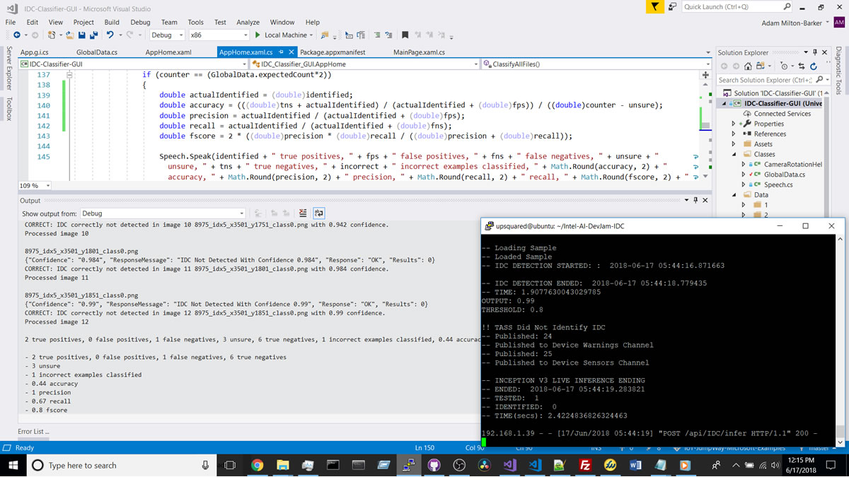 Testing The Universal Windows Application