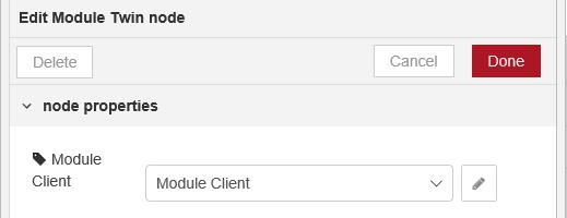 Module Client connection