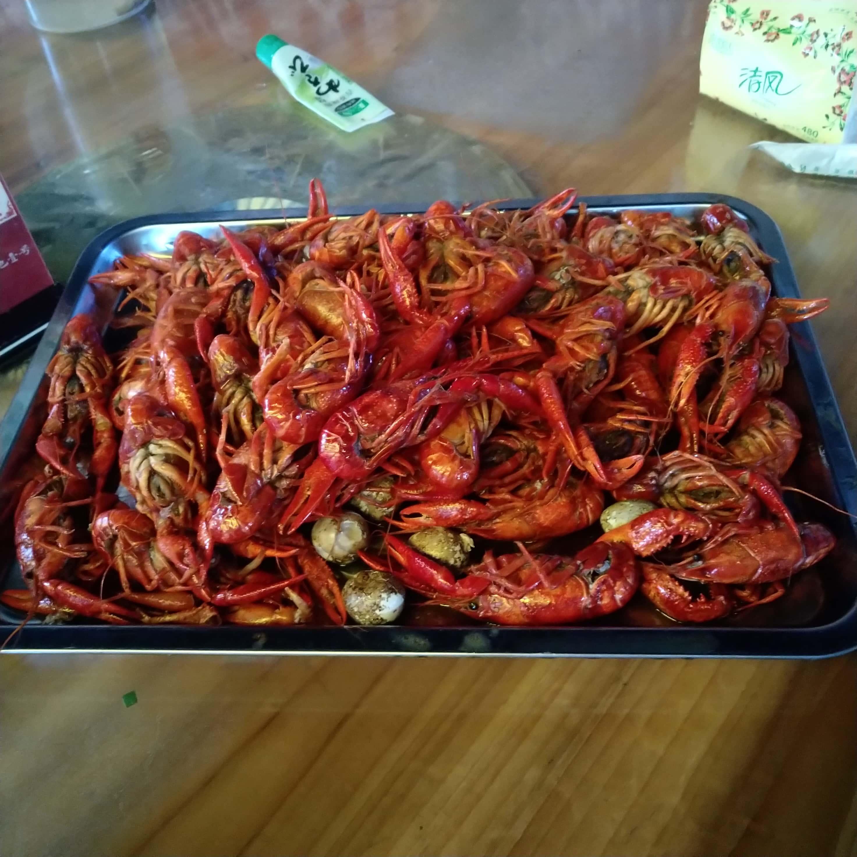 两斤小龙虾