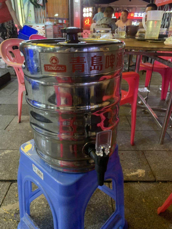 珠江啤酒一桶五公斤