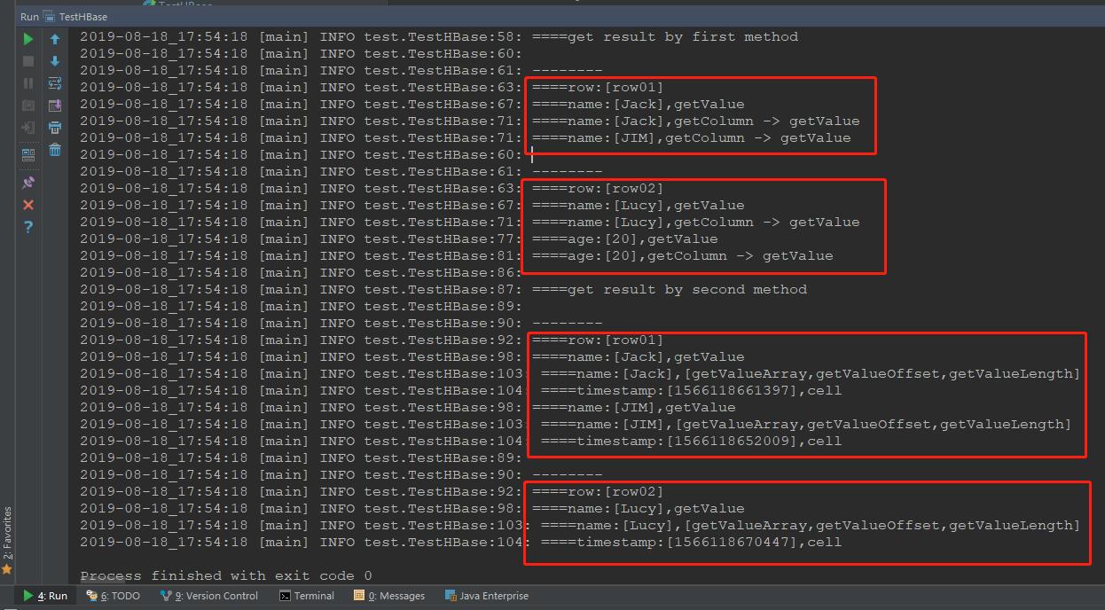 Java 程序运行结果