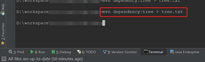mvn 命令行脚本
